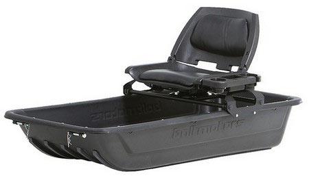 Сиденье на сани Baltmotors для мотобуксировщика, складное, с поворотным устройством и кронштейном крепления купить в Костроме